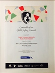 Right Track – Highly Commended at the Constable Care Child Safety Awards 2015!